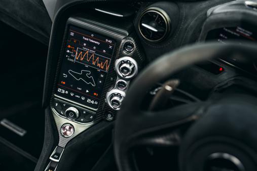 McLaren 720S Intérieur