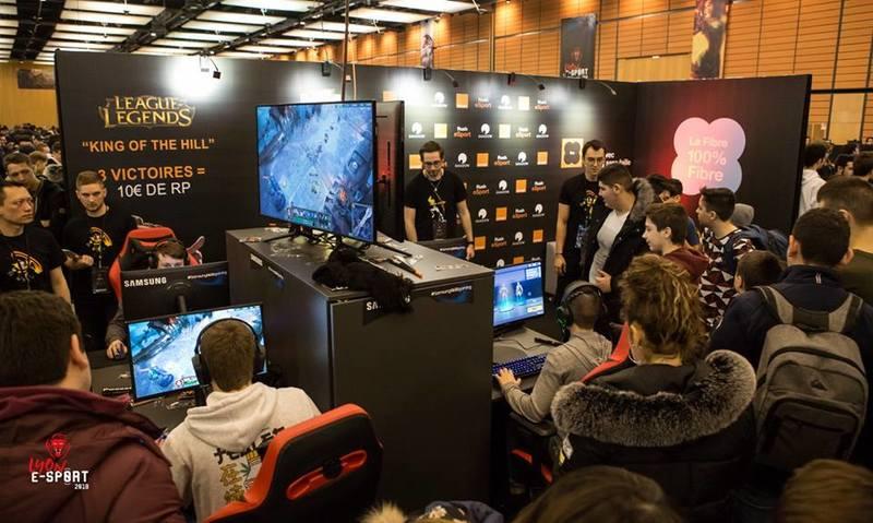 Lyon E-sport League of Legends tournois