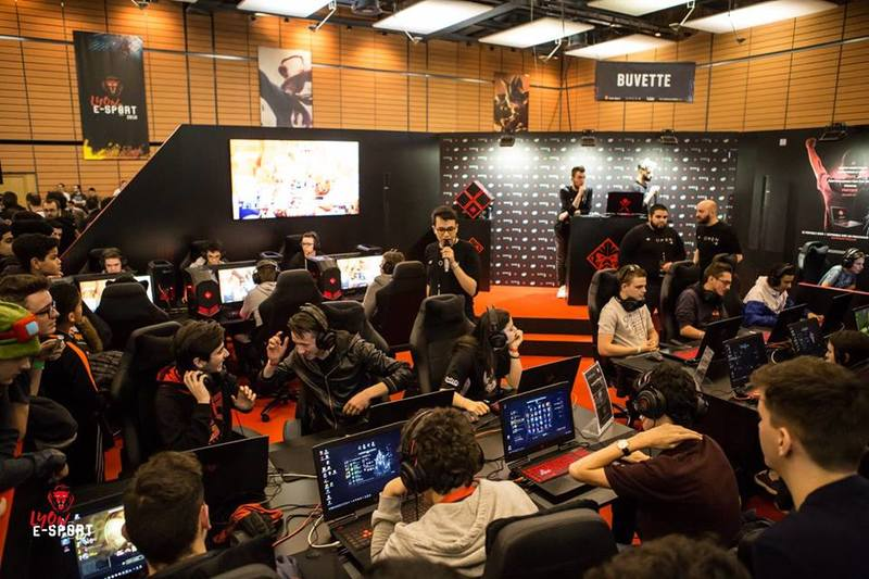 Lyon E-sport tournois