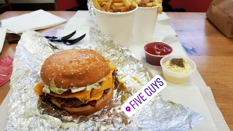 Bacon Cheeseburger Five Guys Genève