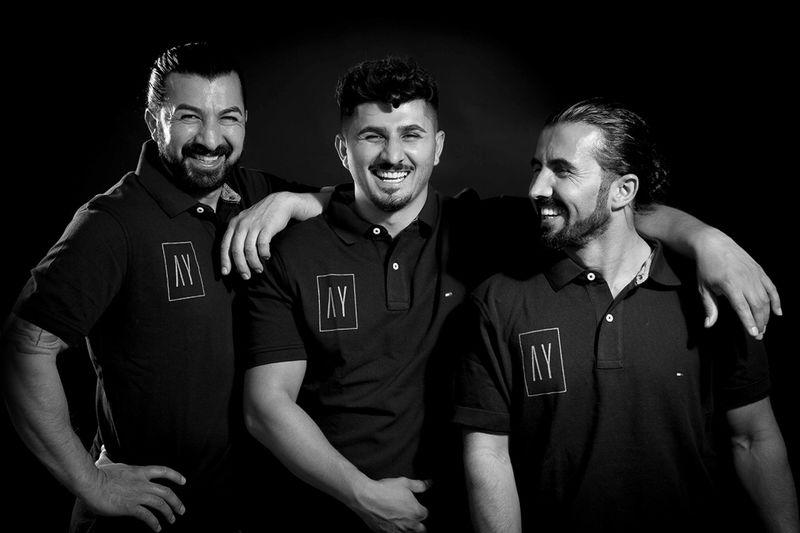 Les 3 frères Ayverdi fondateurs des restaurants: Hüseyin, Ali, et Murti