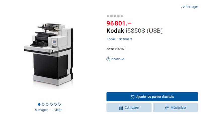 Kodak i5850S (USB)