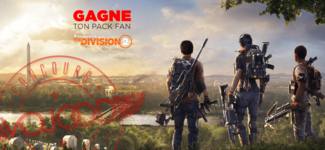 """GAGNE ton pack fan """"The Division 2 - Gold Edition"""" sur PS4"""